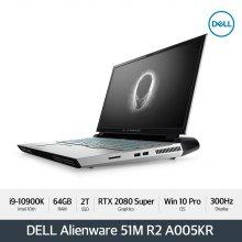 Alienware Area-51M R2 A005KR 노트북 [i9-10900K/64GB/17.3FHD/2TB/RTX2080S/WIN10Pro]