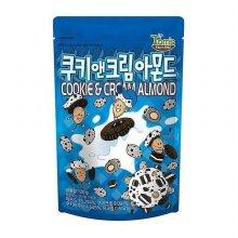 [길림] 쿠키 앤 크림 아몬드 120g