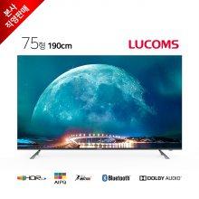 190cm 4K UHD 솔로앤 스마트 TV T7503TU (택배배송)