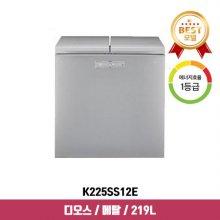디오스 뚜껑형 김치냉장고 K225SS12E (219L, 샤이니 퓨어, 1등급)