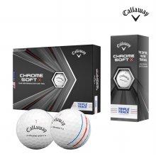 캘러웨이 정품 2020 크롬소프트X 20 트리플트랙 우레탄 골프공 4피스 1더즌 12알