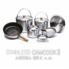 [ZED] 스테인레스 캠쿡2 XL /캠핑코펠/스텐레스304