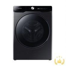 드럼 세탁기 WF24T8500KV [24KG/심플컨트롤/버블워시/무세제통세척/삶음세탁/AI맞춤세탁/10년무상보증/블랙케비어]