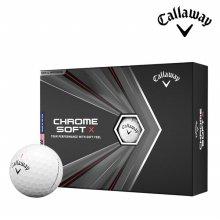 캘러웨이 정품 크롬소프트 X 20 4피스 골프공 골프볼