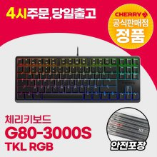 G80-3000S TKL RGB 블랙 적축