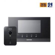셀프시공 비디오폰 인터폰 NHA0793 블랙 초인종포함