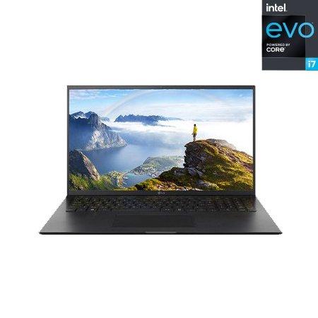 LG 그램17 17Z90P-G.AA7BK 노트북 인텔 11세대 I7 8GB 256GB IrisXe Win10H 17inch(블랙)
