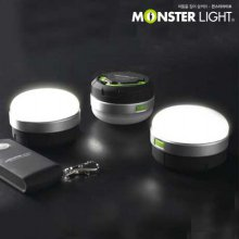 몬스터라이트 무선리모컨 LED 돔랜턴 2구 세트 캠핑랜턴