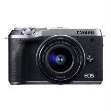 [정품]캐논 EOS M6 MarkⅡ 미러리스 카메라  렌즈키트[실버][본체+15-45mm][16GB메모리증정]