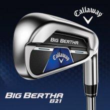 [추가할인쿠폰](캘러웨이) 2021년 빅버사(Big Bertha) B21 경량스틸 8아이언