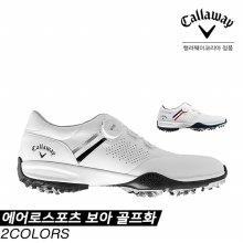 [추가할인쿠폰][캘러웨이코리아정품] 캘러웨이 2020 AEROSPORT BOA(에어로스포츠 보아) 골프화 [2COLORS][남성용]
