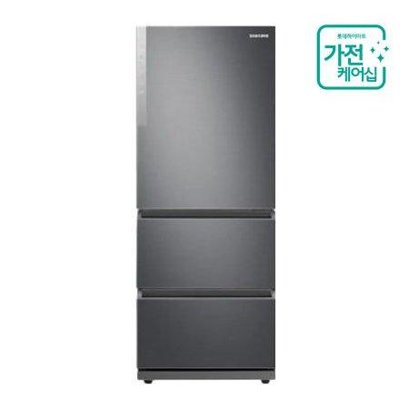 [AS연장 + 가전케어5회] 김치냉장고 RQ33T7102S9 (328L / 스탠드형) REFINED INOX