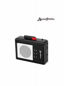 [해외직구] Byron Statics 레트로 휴대용 카세트 플레이어 리코더