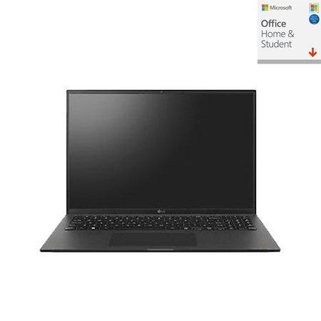 [오피스] LG 그램16 16Z90P-G.AR5MK 노트북 인텔11세대i5 8GB 512GB IrisXE Win10H 16inch (블랙)