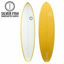 [실버피쉬] SILVERFISH 서핑보드 PU 펀보드 Yellow