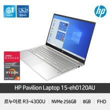파빌리온 15-eh0120AU 노트북 R3-4300U 8GB NVMe256GB 15inch