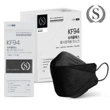 슈퍼클래스 KF94 마스크 프리미엄 대형 블랙 1매
