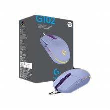 로지텍 정품 G102 2세대 LIGHTSYNC 마우스 라일락