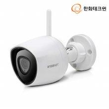 와이즈넷 실내 실외 감시카메라 외부형 CCTV[화이트]