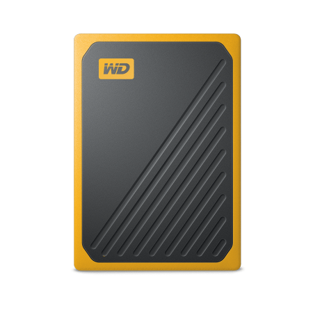 [상급 리퍼상품 단순변심] My Passport GO 휴대용 SSD 스토리지 [ 500GB / Amber(엠버) ]