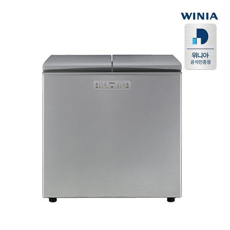 클라쎄 뚜껑형 김치냉장고 ERKN23EXES (216L, 메탈 실버, 1등급)