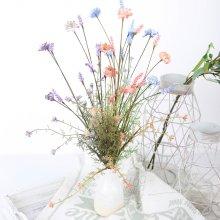 조화 고속터미널꽃시장 미니 믹스 플라워 60cm 시들지않는꽃