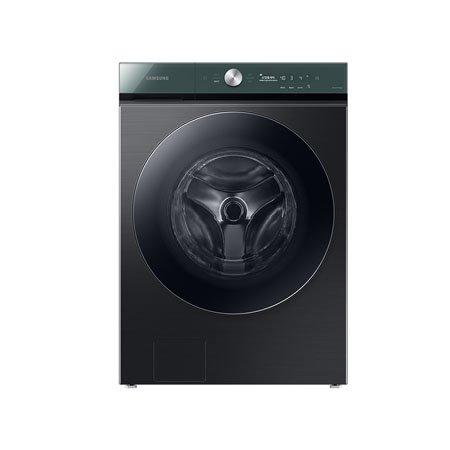 [AR체험] 비스포크 그랑데 세탁기 AI WF24A9500FV [24KG/올인원컨트롤/AI맞춤세탁/버블워시/블랙케비어(디스플레이:그리너리)]
