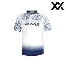 MAXX 배드민턴 남자 반팔 트레이닝 티셔츠 화이트2