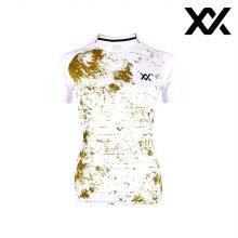 MAXX 배드민턴 여자 반팔 트레이닝 티셔츠 화이트4