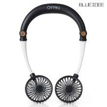 블루아이디 유팬 넥밴드 휴대용선풍기 핸즈프리 BI-NF8 블랙