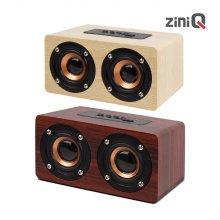 지니큐 MF-900B 블루투스스피커 MF우드 FM라디오 MP3스피커
