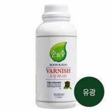 순앤수 수성 바니쉬 1L (유광) 투명 코팅제
