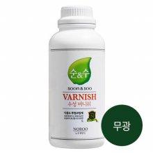 순앤수 수성 바니쉬 1L (무광) 투명 코팅제