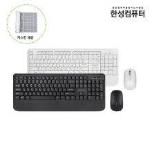 OfficeMaster S3 무선 키보드마우스 세트 (팜레스트 일체형)