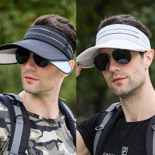 라인 날개썬캡 자외선차단 골프모자 등산 낚시 모자