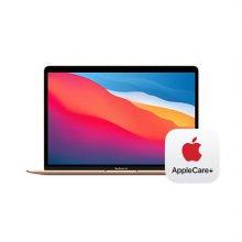 [Applecare+] 맥북에어 13형 M1 GPU 8코어  RAM 8GB SSD 512GB 골드 / Apple 노트북