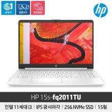 HP 15s-fq2011TU/i3 11세대/NVMe 256GB/4GB/Freedos/15인치