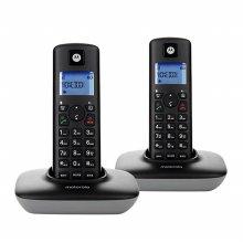 무선 전화기 T401A 1+1 블랙 발신자