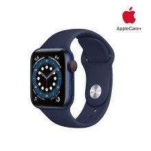 [Applecare+] 애플워치 6 GPS+Cellular 40mm 블루 알루미늄 케이스 딥네이비스포츠밴드