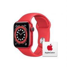 [Applecare+] 애플워치 6 GPS 40mm 프로덕트레드 알루미늄 케이스 프로덕트레드스포츠밴드