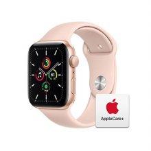 [Applecare+] 애플워치 SE 44mm GPS 골드 알루미늄 케이스 핑크샌드스포츠밴드