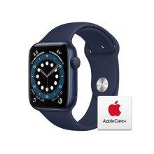 [Applecare+] 애플워치 6 GPS 44mm 블루 알루미늄 케이스 딥네이비스포츠밴드