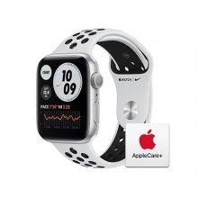 [Applecare+] 애플워치 6 Nike GPS 44mm 실버 알루미늄 케이스 퓨어플래티넘블랙나이키스포츠밴드