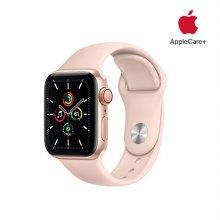 [Applecare+] 애플워치 SE GPS+Cellular 40mm 골드 알루미늄 케이스 핑크샌드스포츠밴드
