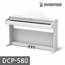[히든특가]전자 디지털피아노 DCP-580 화이트 [착불 40,000원]