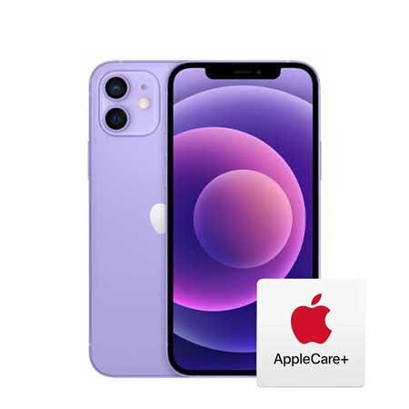 [자급제, AppleCare+ 포함] 아이폰 12, 64GB, 퍼플