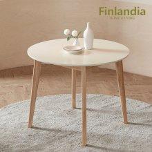핀란디아 데니스 원목 원형테이블