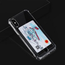 카드 범퍼 투명 젤리 케이스 갤럭시 노트9 (N960)