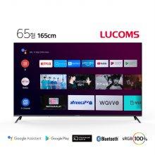 165cm UHD 스마트 TV T6507CUA (벽걸이형 기사설치)