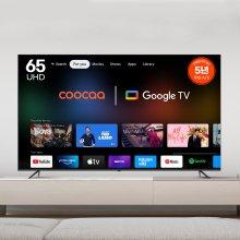 165cm 쿠카 UHD 스마트 TV UC651UHD (벽걸이상하/기사방문)